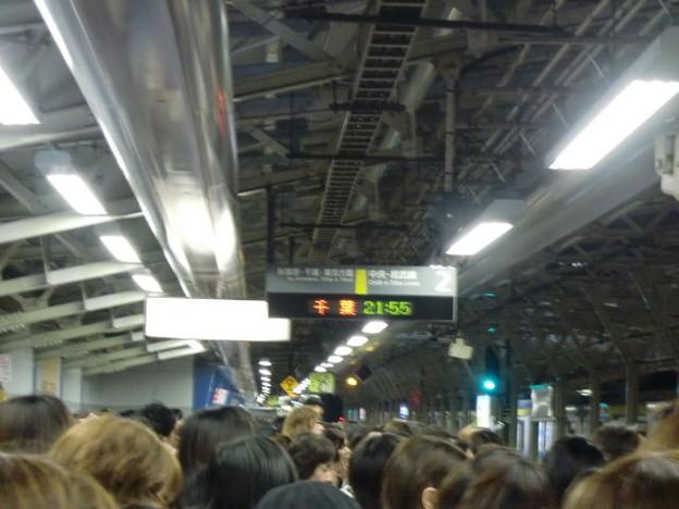 水道橋駅大混雑