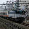 EF65-1139+E233系トタ青464編成+青664編成