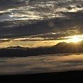オプタテシケ付近からの日の出(4)