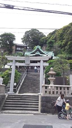 西岸 叶神社