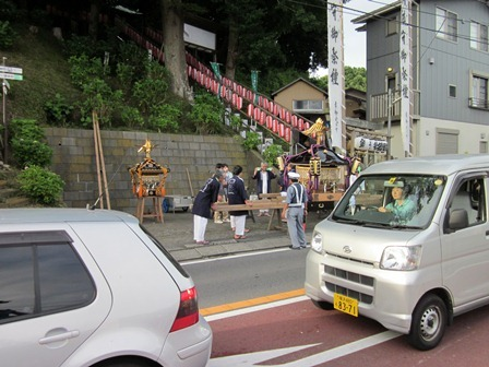 八雲神社のお神輿