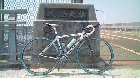 城ケ島大橋なう暑いね