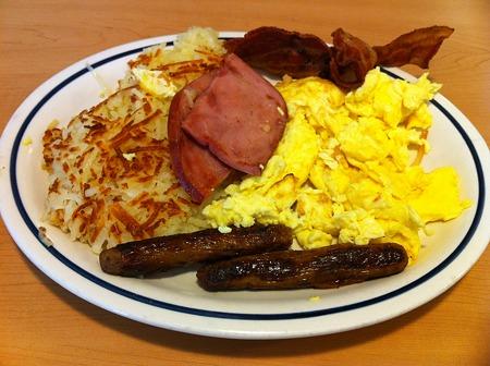 アメリカンな朝食