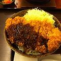 写真: チキンカツ丼