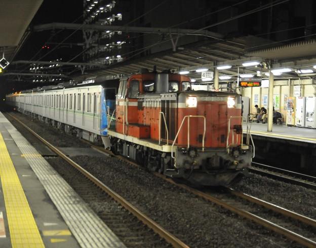 東京メトロ 千代田線16000系 甲種輸送 DE10-1663 JR東日本 西国分寺駅