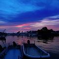 Photos: 明けの漁港