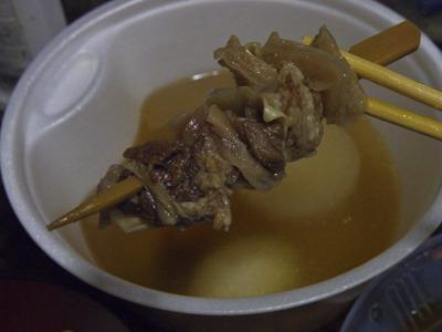 牛すじ串1