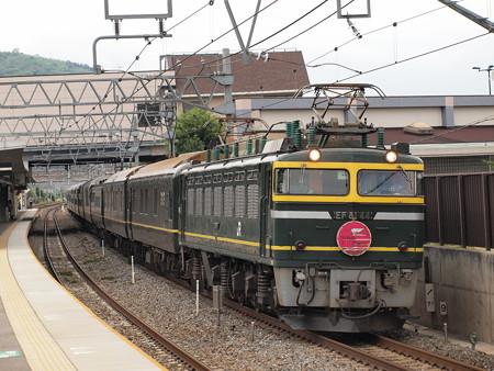EF81 トワイライトエクスプレス 東海道本線島本駅