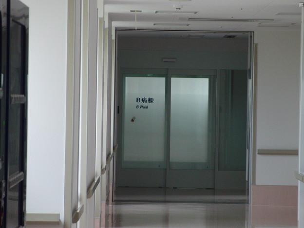 B病棟入り口