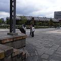 赤レンガ倉庫近くの横浜港駅の跡