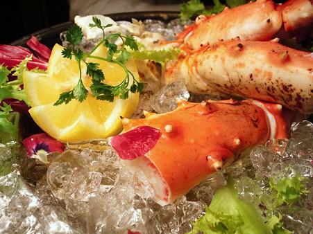 蟹の盛り合わせ@Red Lobster