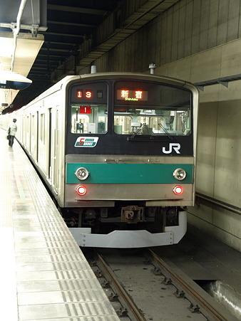 205系埼京線(大宮駅)