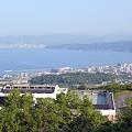 写真: 別府湾とさんふらわぁ