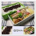 ◆11.25 たぬきご飯のお弁当(長男)♪