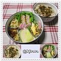 ◆11.25 たぬきご飯のお弁当(長女)♪