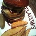 写真: ミート矢澤 BLACOWS(ブラッカウズ)@恵比寿。 非常に美味でございます。