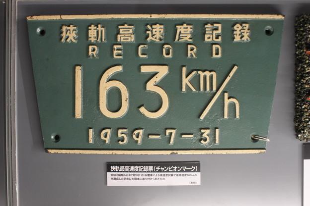 狭軌高速度記録 163km/h (1959年7月31日)