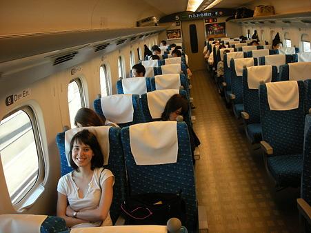 新幹線でいざ京都へ