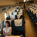 Photos: 新幹線でいざ京都へ