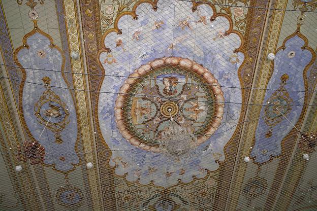 マイソール宮殿の天井