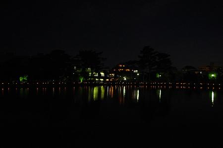 猿沢池の夜景