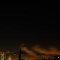 横浜方面の夜