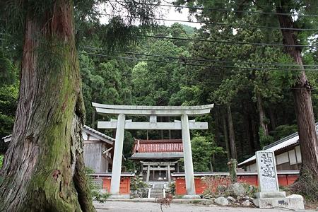 高天彦神社・鳥居