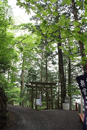 玉置神社・参道