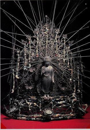 東大寺法華堂 不空羂索観音立像 宝冠