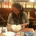 写真: 八幡山バーミヤンで宮崎まさ...