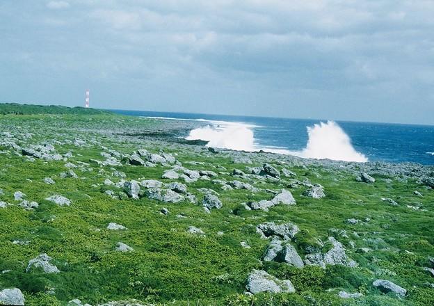 Photos: 最南端の波濤