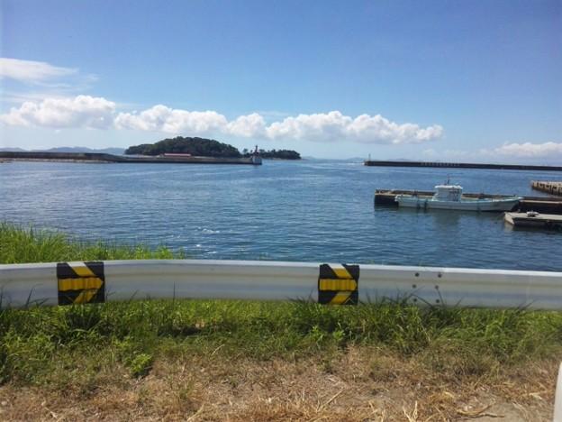 写真: うさぎ島、猿ヶ島です。実は...