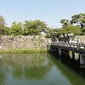 写真: 彦根城、京橋