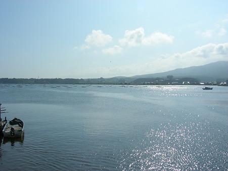 加茂湖の風景(1)