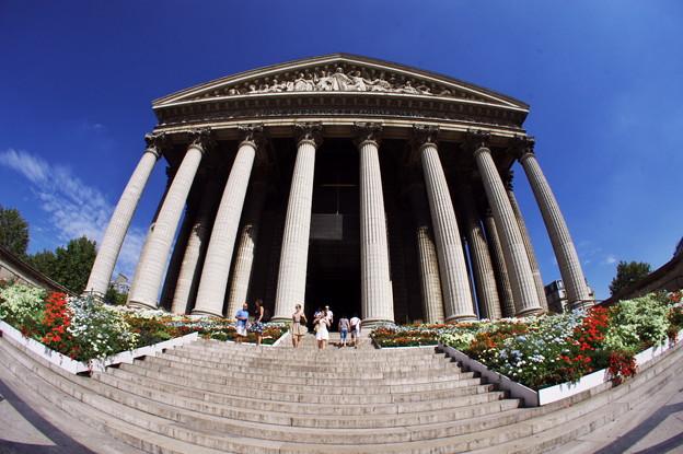 Photos: パリ・マドレーヌ寺院