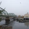 Photos: Androscoggin River in the Fog 10-27-10