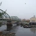 Androscoggin River in the Fog 10-27-10