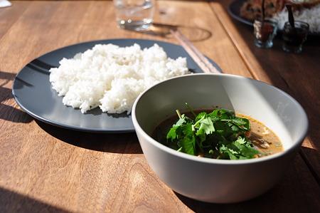 白身魚と根菜のカレー@Kuriyum