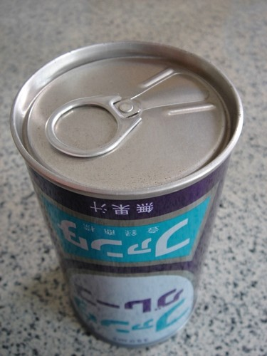 昭和49年に見つけたファンタグレープ缶