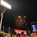 神宮球場の花火2010年夏_DSC_1257