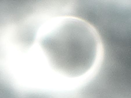 金環日食0731