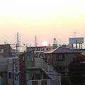 Photos: 太陽直視できる!面白い。