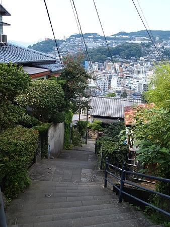 長崎は坂の町