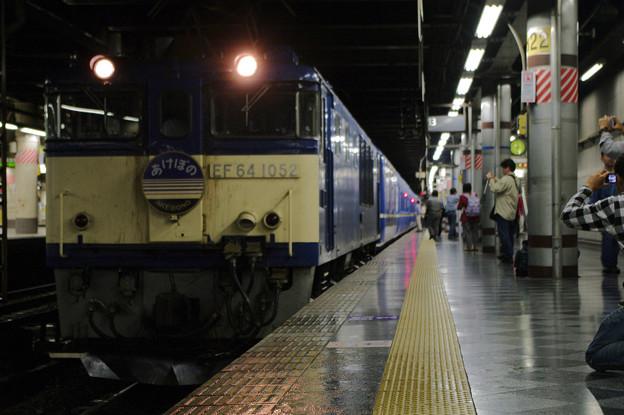 s8712_寝台特急あけぼの_EF641052+24系客車_上野