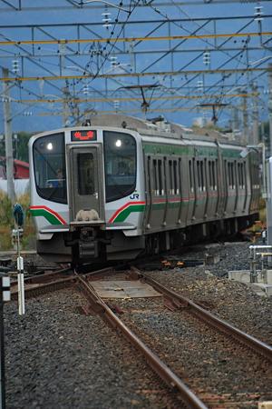 E721系 羽前千歳駅