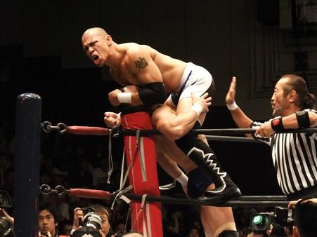 新日本プロレス BEST OF THE SUPER Jr.XIX 準決勝戦 Aブロック2位 プリンス・デヴィット vs Bブロック1位 ロウ・キー (3)