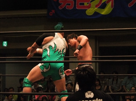 """DDT """"What are you doing 2012"""" HARASHIMAvs入江茂弘 (3)"""