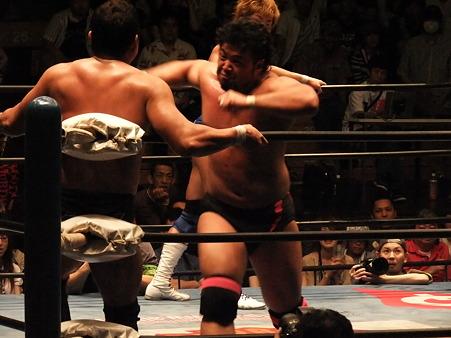 全日本プロレス 後楽園ホール 20110712 (37)