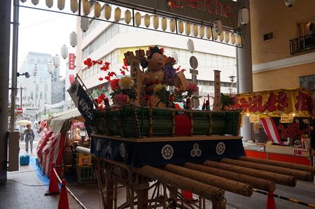 15 2014年 博多祇園山笠 子供山笠 サザエさん 新天町 (2)