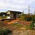 Photos: 万葉線、中伏木駅